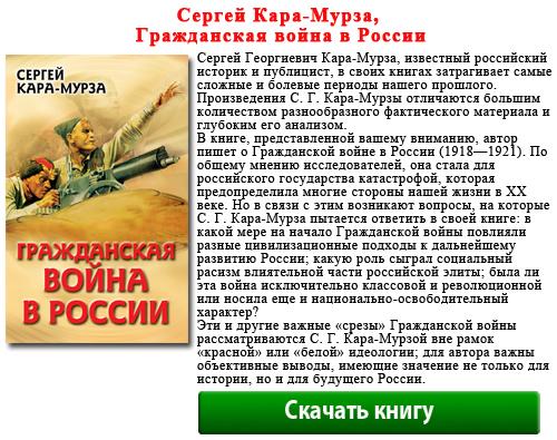 Сергей Кара-Мурза, Гражданская война в России